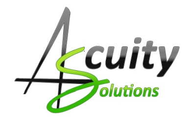 Logo ACUITY SOLUTIONS